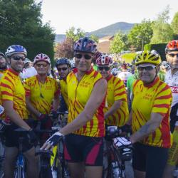 Juin 2017 L'Ardéchoise, course mytique du vélo de route