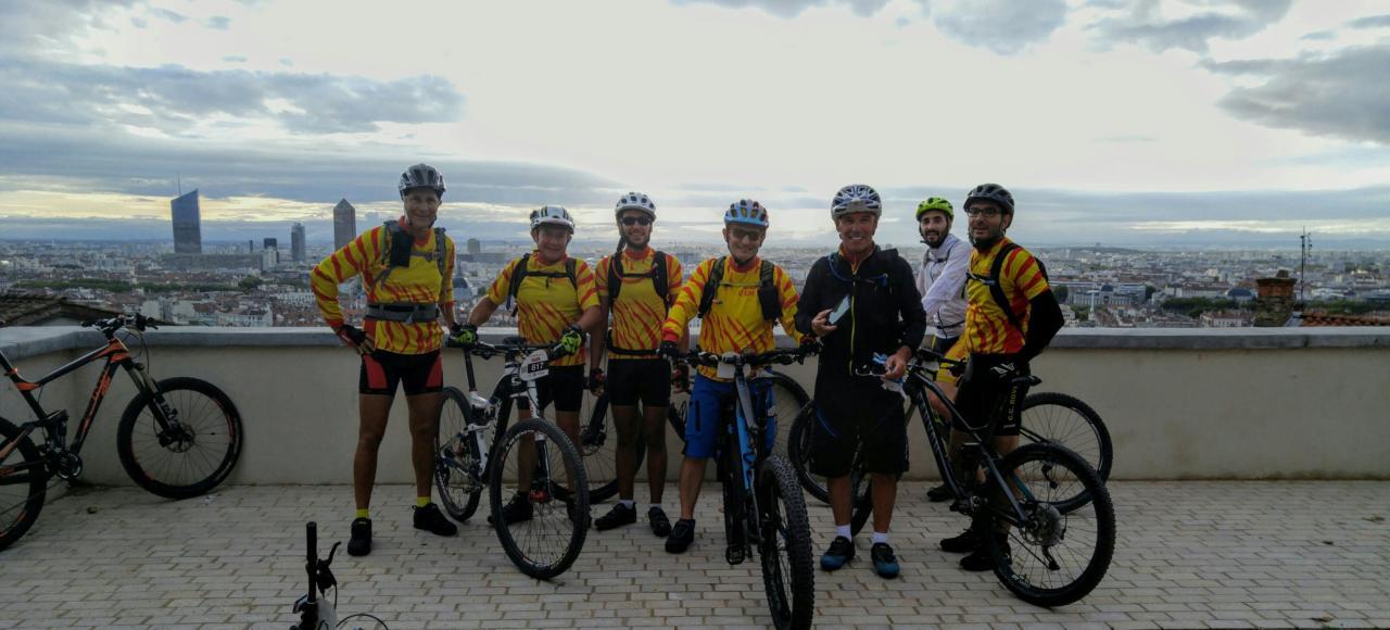 Lyon Free Bike, sur les hauteurs de Lyon