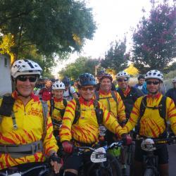 Départ Lyon free bike septembre 2018
